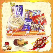 Chocolates on Rakhi